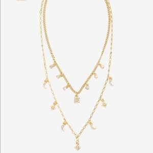 "WHBM Charm Necklace ""letter a"""